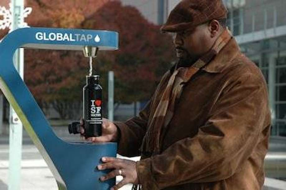Soda tax money: More water refilling stations on tap at